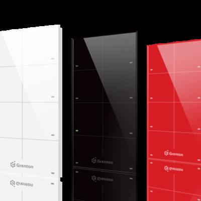Nowoczesne dotykowe włączniki światła Grenton Touch Panel dotykowy Livolo – Senso Smart Home