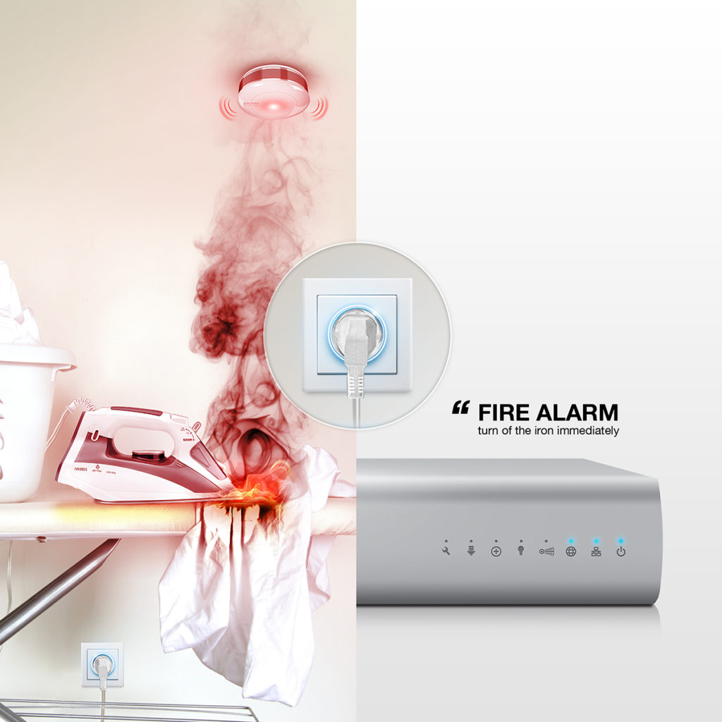 Detektor gazu oraz czujnik tlenku węgla – Senso Smart Home