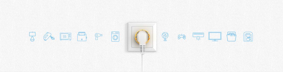 Sterowanie urządzeniami przez internet takimi jak nowoczesne gniazdka elektryczne – Senso Smart Home